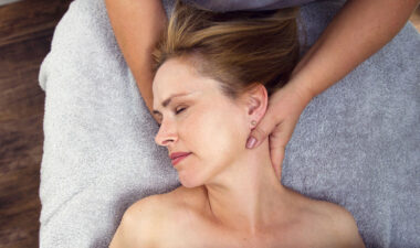 woman having an Elemis facial at Eden Beauty and Aesthetics, Southend
