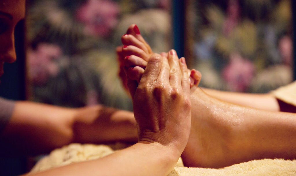foot massage at Eden Beauty Southend