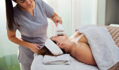 Hairbare hair removal treatment on client at Eden Beauty & Aesthetics, Southend