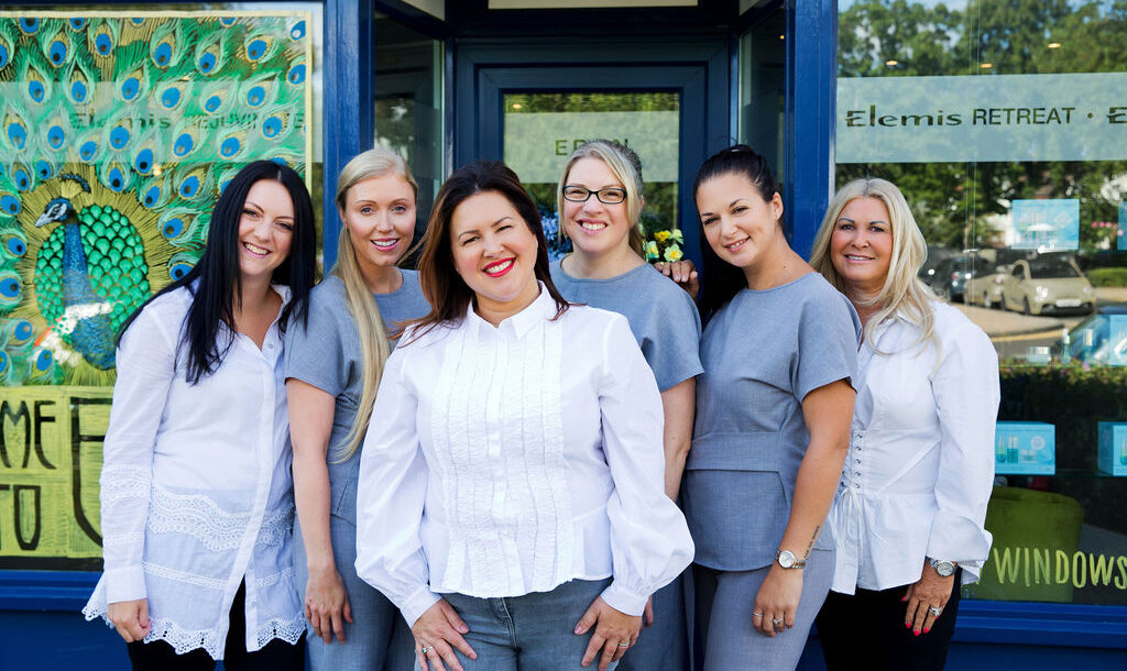 Eden Beauty and Aesthetics Team outside Chalkwell shop