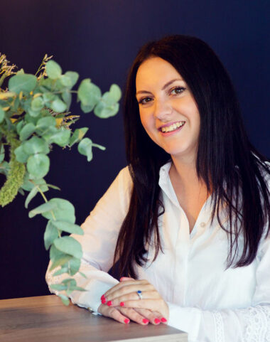 photograph of Lucy, Eden Beauty Receptionist